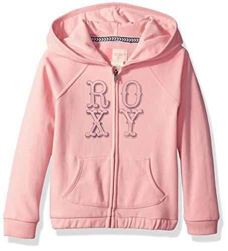 Roxy Girls' Toddler Fashion Hooded Fleece Sweatshirt