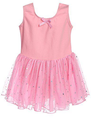 Arshiner Girls Classic Camisole Tank Sequins Tutu Dress