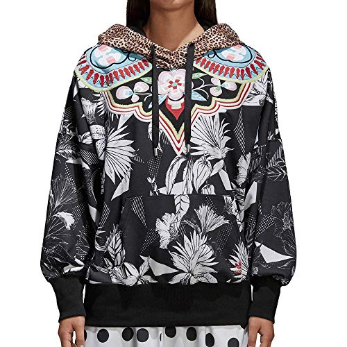 adidas X Farm Women's Floral Tropical Hoodie (Small)