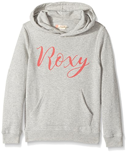 Roxy Girls' Big Deep Sky Hoodie, Heritage Heather