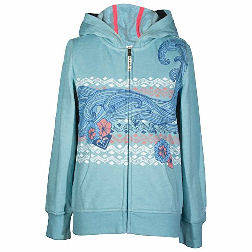 Roxy Girls Hoodie Cameo Blue Medium 10/12