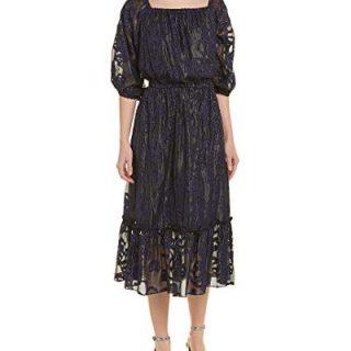 Shoshanna Women's Lennon Strapless Midi Dress