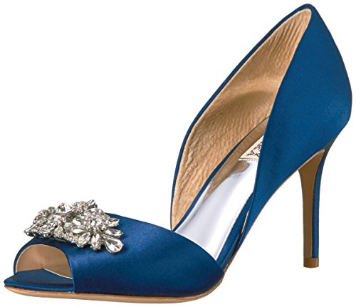 Badgley Mischka Women's Kaden Pump, Navy