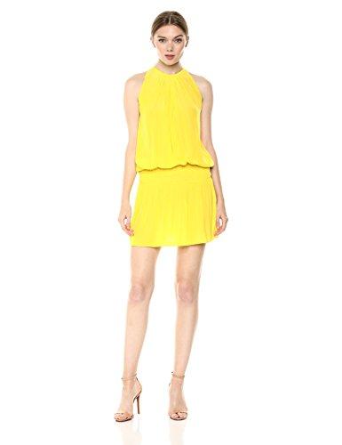 Ramy Brook Women's Paris Sleeveless Elastic Waist Mini Dress