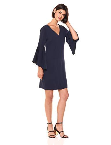 Trina Trina Turk Women's Nico Ruffle Sleeve Dress