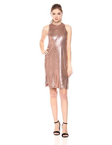 Splendid Women's Astor Metallic Coated Dress