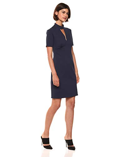 Trina Trina Turk Women's Camari Choker Neck Dress