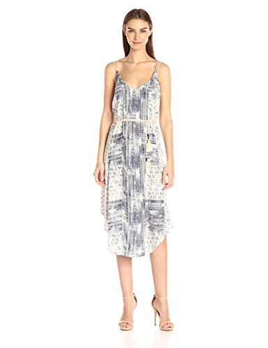 Michael Stars Women's Charlotte Print Midi Dress