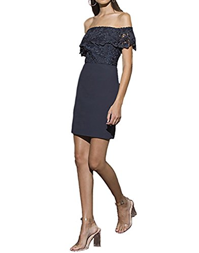 StyleStalker Madelyn Mini Dress in Slate (Extra Small)