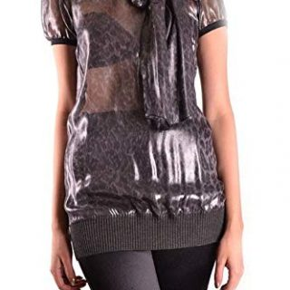 Dolce e Gabbana Women's Black Silk Top