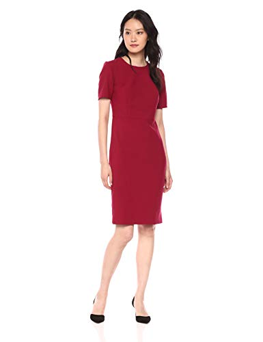 Trina Turk Women's Diamante Elbow Sleeve Midi Dress