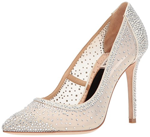 Badgley Mischka Women's Weslee Pump, Ivory