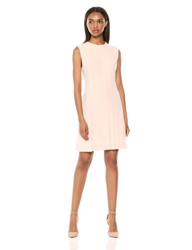 Theory Women's Sleeveless Pleated Day Dress