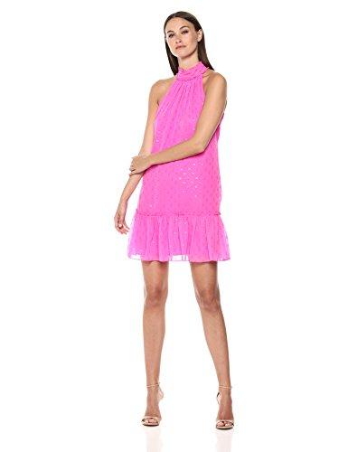 Trina Trina Turk Women's Bodega Bay Mock Neck Dress