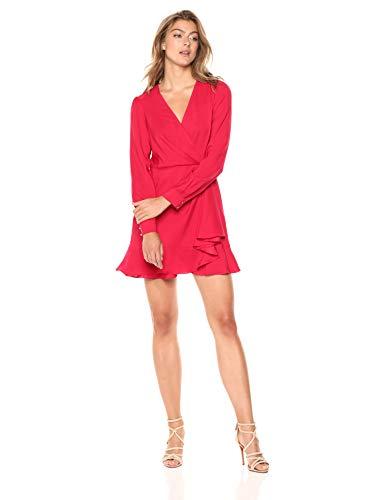 Parker Women's Polly Long Sleeve v-Neck Short Dress