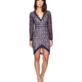 StyleStalker Women's Adelie Long Sleeve Dress