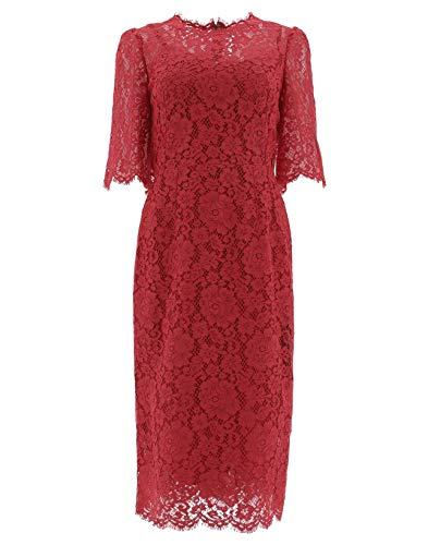 Dolce e Gabbana Women's Red Polyamide Dress