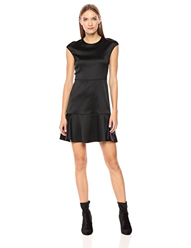 Theory Women's Essential Flare W, Black, 6