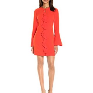 Rachel Zoe Women's Monner Dress, Dark Coral