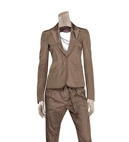 Gucci Women's Taffeta Top Basic Jacket Blazer