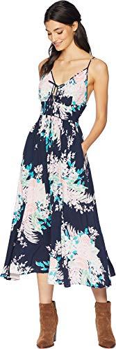 Yumi Kim Women's Lovers Rock Dress Mystic Floral Navy Medium