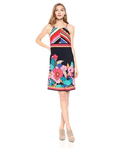 Trina Turk Women's Vacaciones Dress, Jet Set Floral
