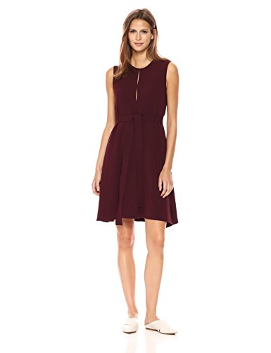 Theory Women's Desza B Dress, Dark Currant 4