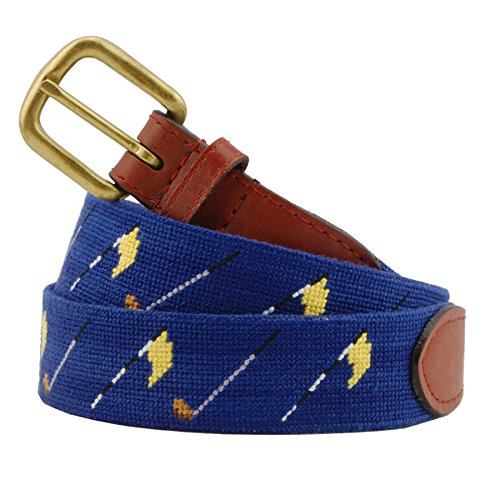 Smathers & Branson Men's Needlepoint Belt