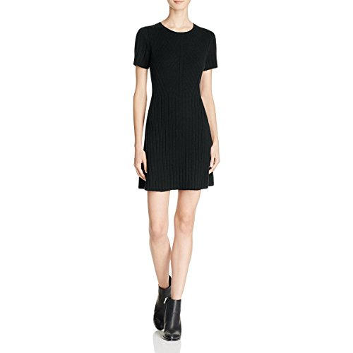 Theory Women's Branteen BL Charmant Wool Ribbed Knit Sweater Dress
