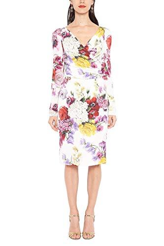 Dolce e Gabbana Women's White Silk Dress