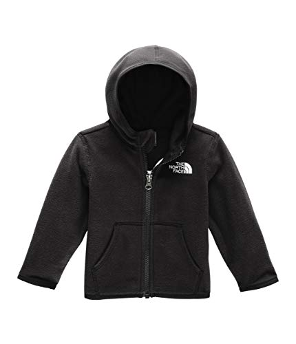 The North Face Infant Glacier Hoodie, TNF Black, 3M