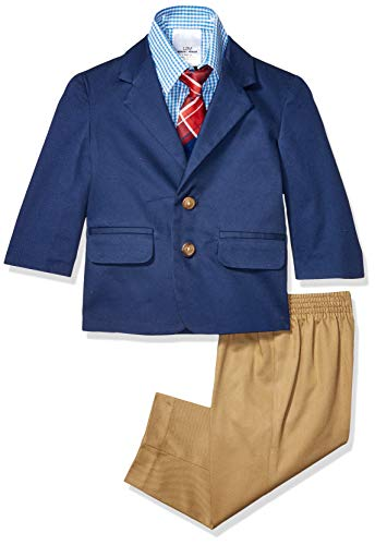 Nautica Baby Boys 4-Piece Suit Set with Dress Shirt
