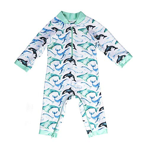Whaley Cute Baby Swimsuit - Certified UPF 50+