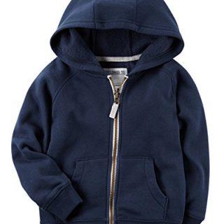 Carters Boys Classic Fleece Zip-Up Hoodie