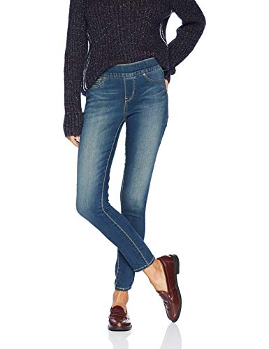 Signature by Levi Strauss & Co Women's Totally Shaping Pull On Skinny Jeans