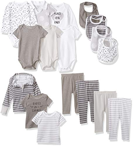 Hanes Ultimate Baby Flexy-17 Piece Warm Weather Essentials Set