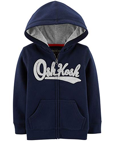 OshKosh B'Gosh Baby Boys' Logo Hoodie, Dark Blue
