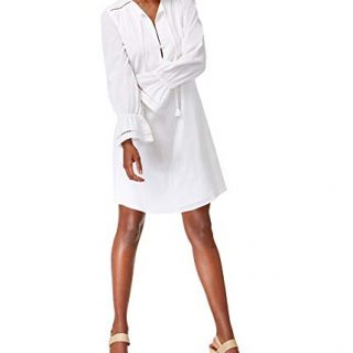 Trina Turk Women's Lucious Shirt Dress, White S