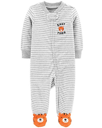 Carter's Baby Boys Cotton Footed Sleep N Play