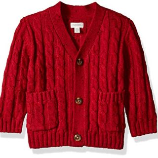 Gymboree Baby Boys Long Sleeve Shawl Collar Cardigan