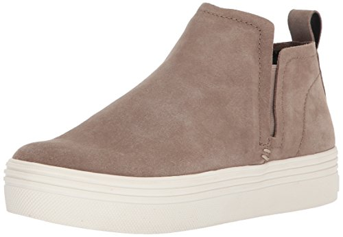 Dolce Vita Women's Tate Sneaker Taupe Suede