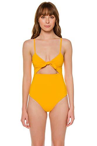 Mara Hoffman Women's Kia Cutout One Piece Swimsuit Swimsuit Sprint M