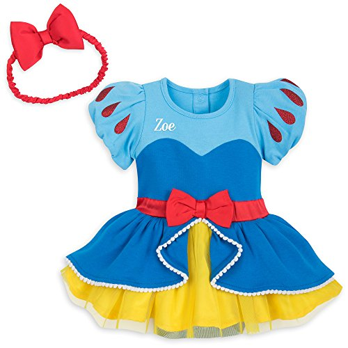 Disney Snow White Bodysuit for Baby Size 0-3 MO Multi
