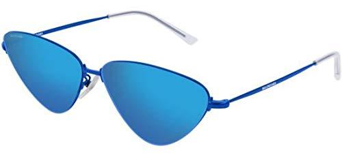 Balenciaga Sunglasses Blue Mirror(Double) Lens