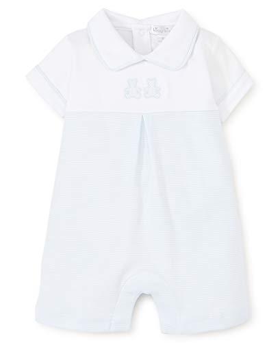 Kissy Kissy Baby-Boys Infant Bear Cubs Blue Stripe Short Playsuit