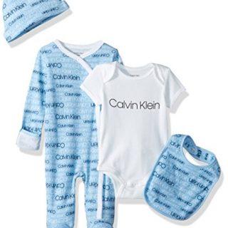 Calvin Klein Boys Baby Girls' Infant Gift Set