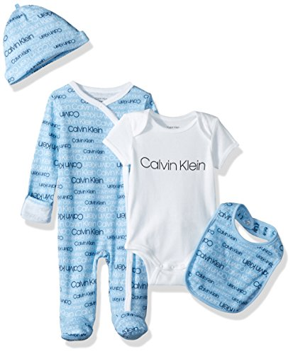 Calvin Klein Boys Baby Girls' Infant Gift Set
