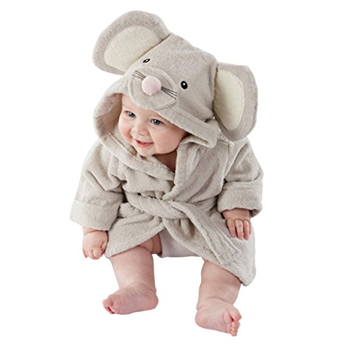 Yisumei Baby Bathrobes Mouse Cute Pajama Nightwear