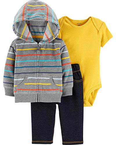 Carter's Baby Boys' 3 Piece Cardigan Little Jacket Set
