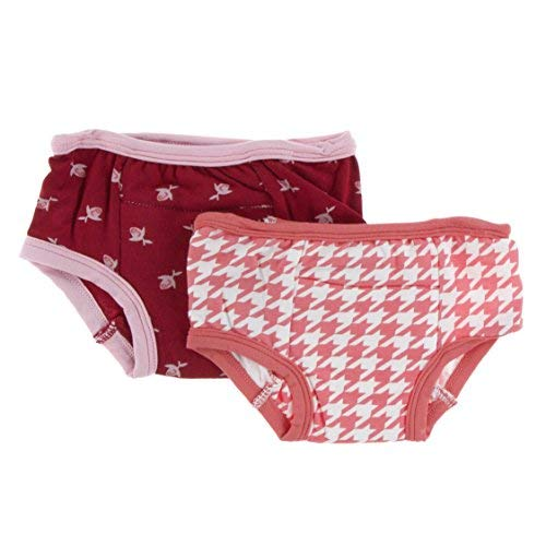 Kickee Pants Little Girls Training Pants Set